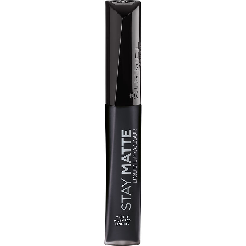 Rimmel Stay Matte Liquid Lip Colour - Pitch Black