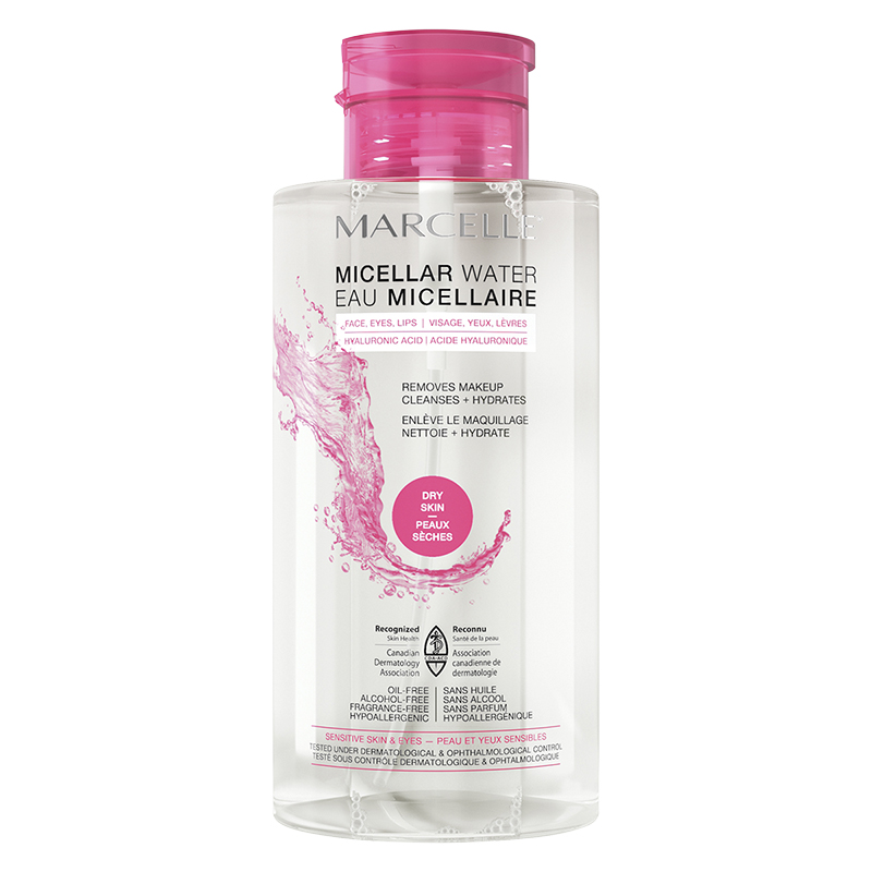 Marcelle Micellar Water - Dry Skin - 400ml