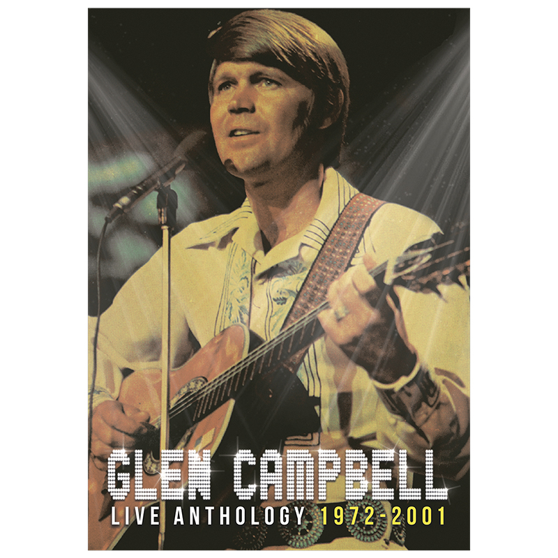 Glen Campbell - Live Anthology 1972-2001 - DVD + CD Combo