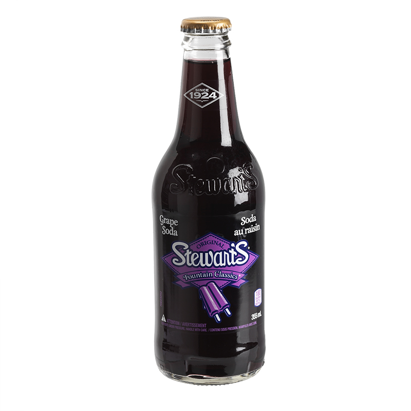 Stewart's Soda - Grape - 355ml