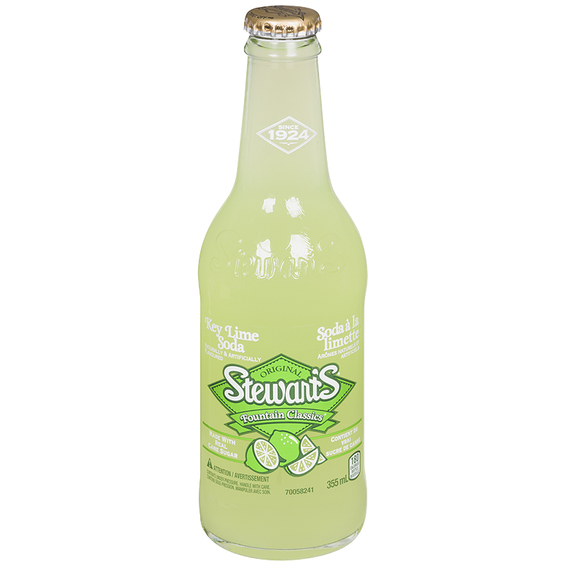 Stewart's Fountain Classics - Key Lime - 355ml