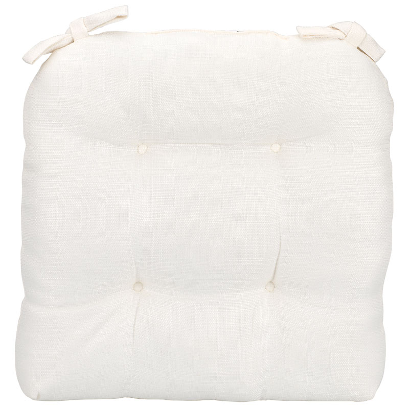 London Drugs Woven Chair Pad - White