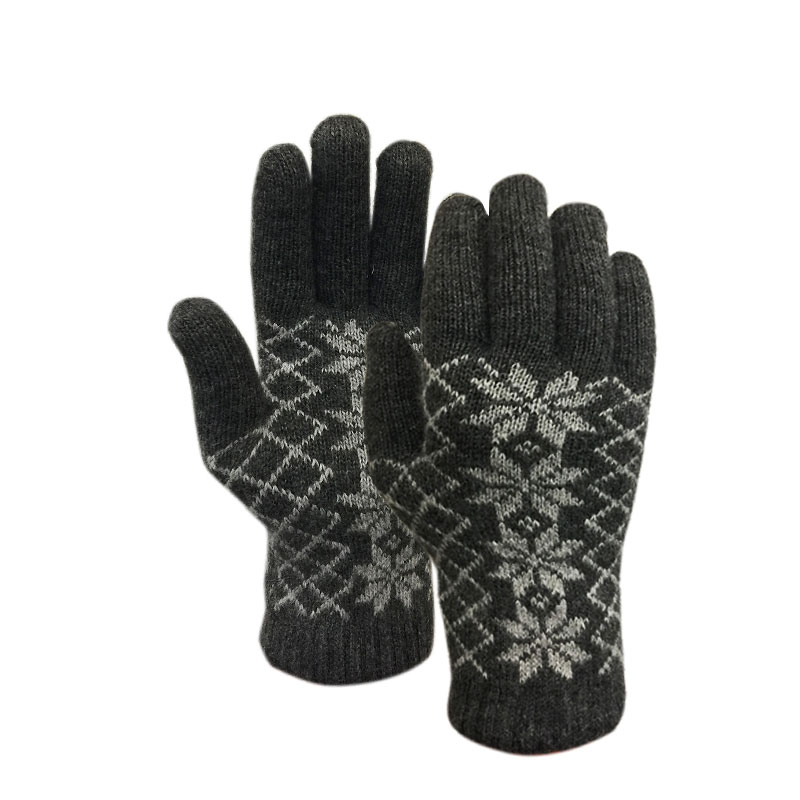 Auclair Flakes & Diamonds Gloves - Pewter/Silver