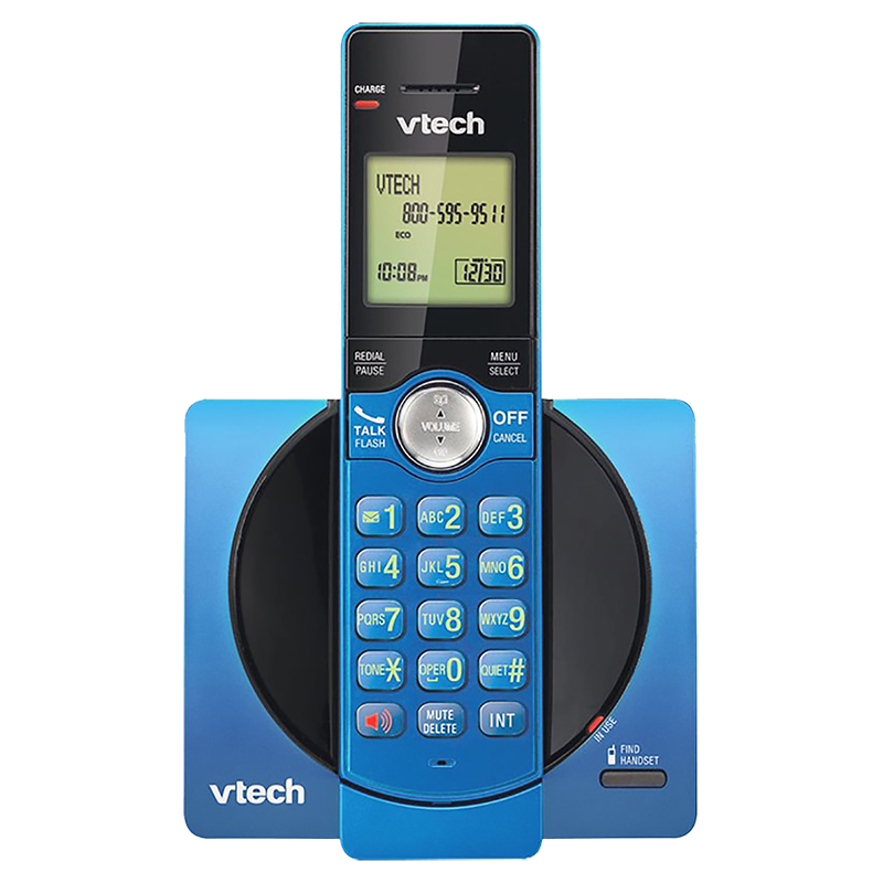 VTech Cordless Phone with Caller ID - Blue - CS691915