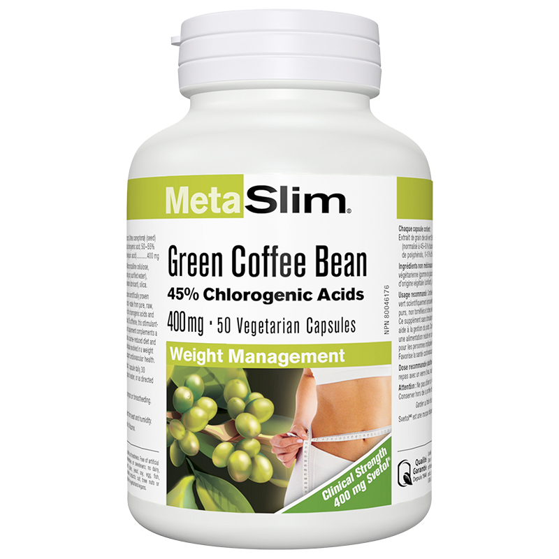 Webber MetaSlim Green Coffee Bean 400mg - 50's