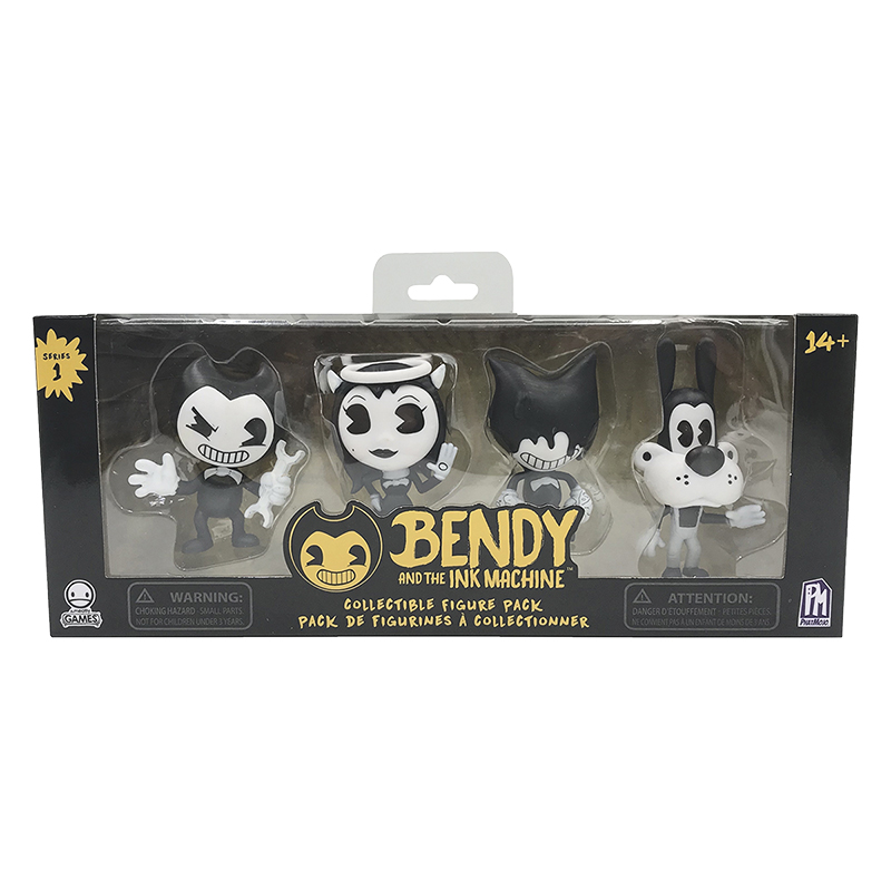 Bendy and the Ink Collectible Figures - 4 pack