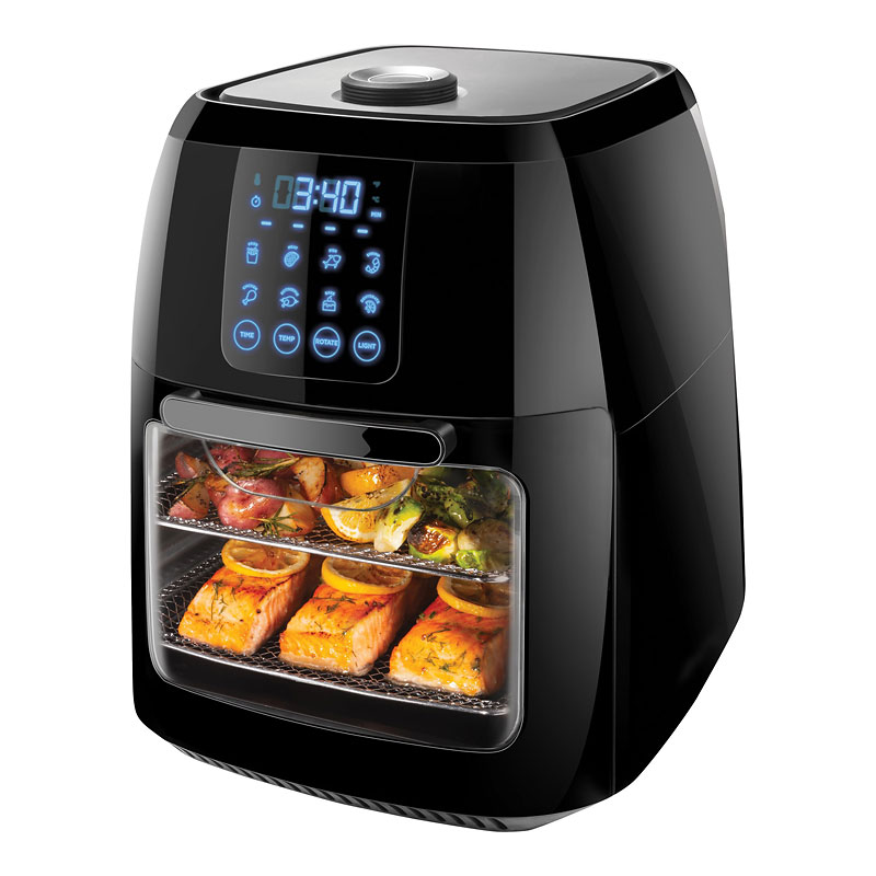 Chefman 3-in-1 Air Fryer - Black - 6L - RJ38-RDO