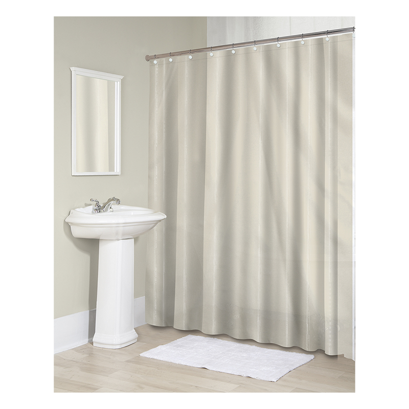 Splash Sheer Shower Shield Liner - Ivory