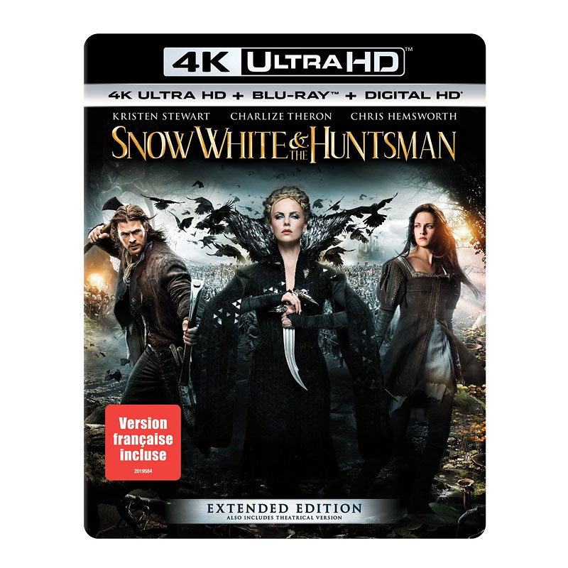Snow White and the Huntsman - 4K UHD Blu-ray