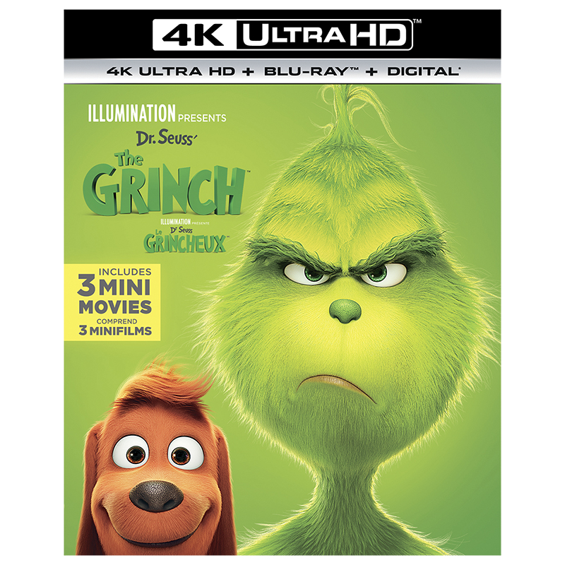 Dr. Seuss' The Grinch - 4K UHD Blu-ray