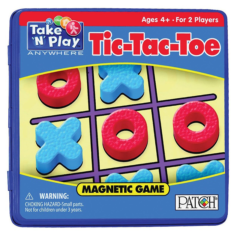 Tic-Tac-Toe Game Tin