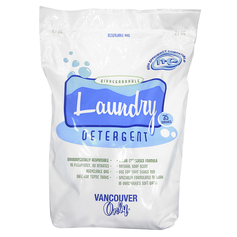 Vancouver Only Laundry Detergent - 2.1kg