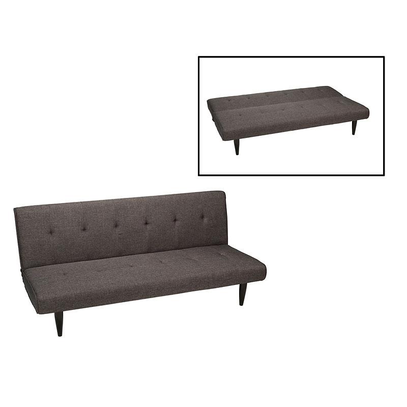 London S Sofa Bed Memory Foam Grey