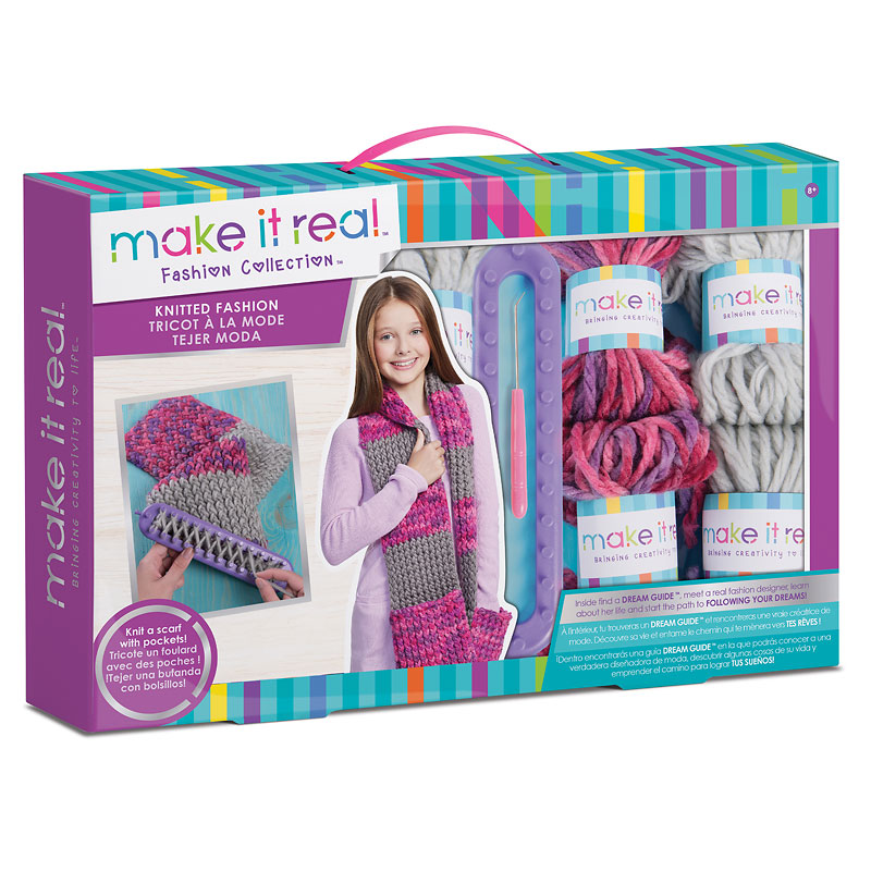 Make It Real Cozy Hand Scarf