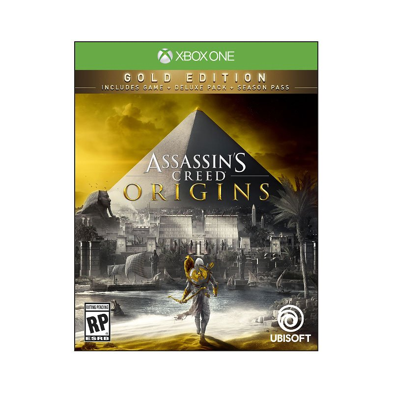 Xbox One Assassin's Creed Origins Gold Steelbook Edition