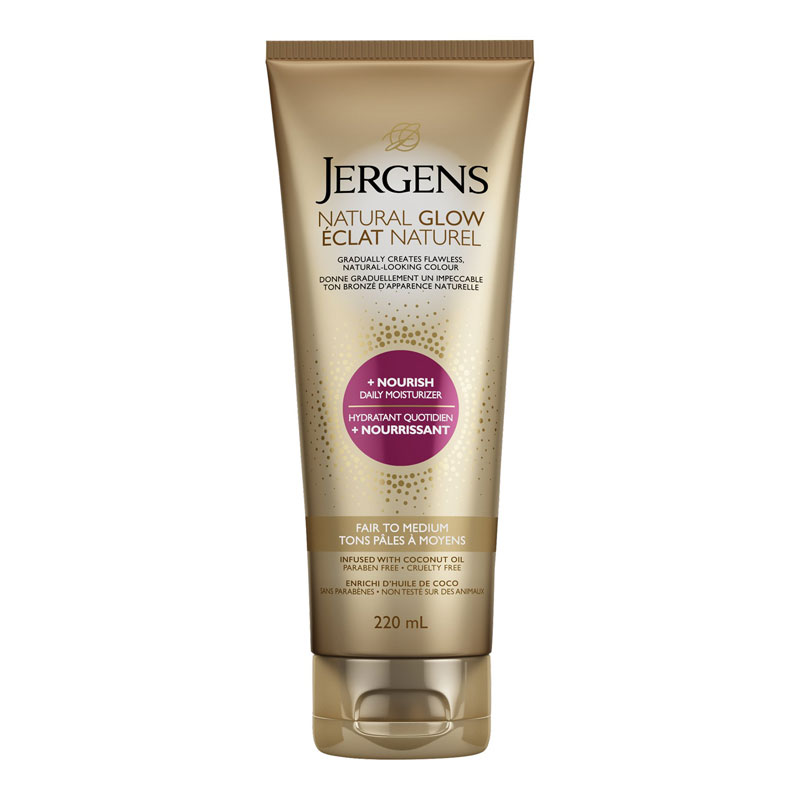 Jergens Natural Glow +Nourish Daily Moisturizer - Fair to Medium - 220ml