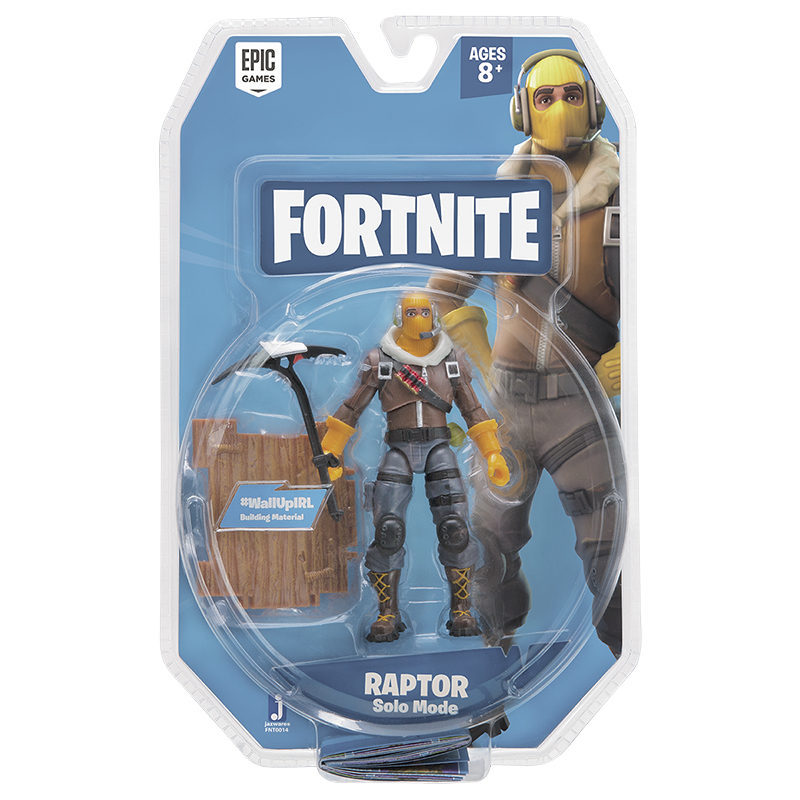 Fortnite Solo Mode Figure - Raptor - 4in