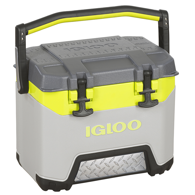 Igloo BMX Cooler - Grey/Green - 25qt