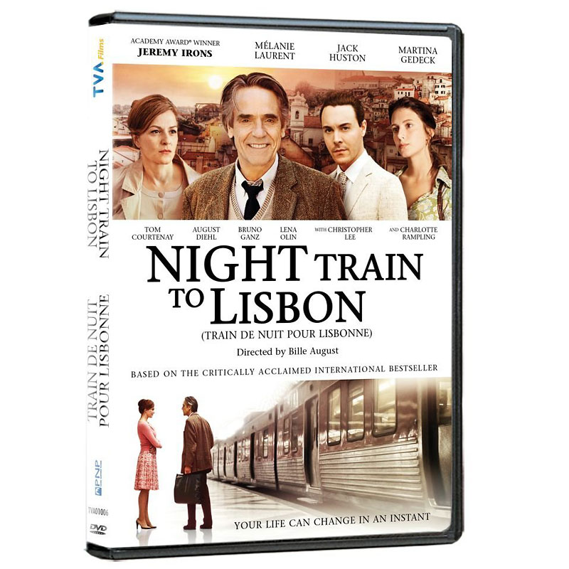 Night Train to Lisbon - DVD