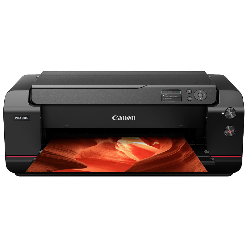 Canon imagePROGRAF PRO-1000 Professional Photo Inkjet Printer - Black - 0608C003