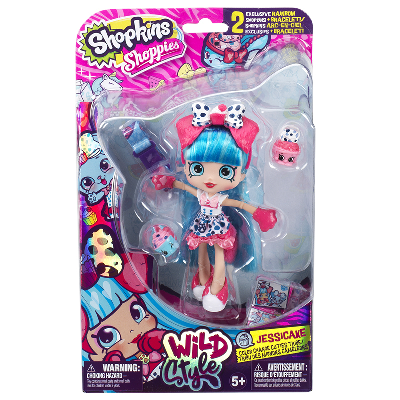 Shopkins Shoppies Wild Style Doll - Assorted