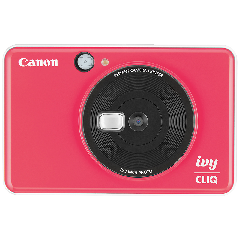 Canon Ivy Cliq Instant Camera - Lady Bug Red - 3884C004