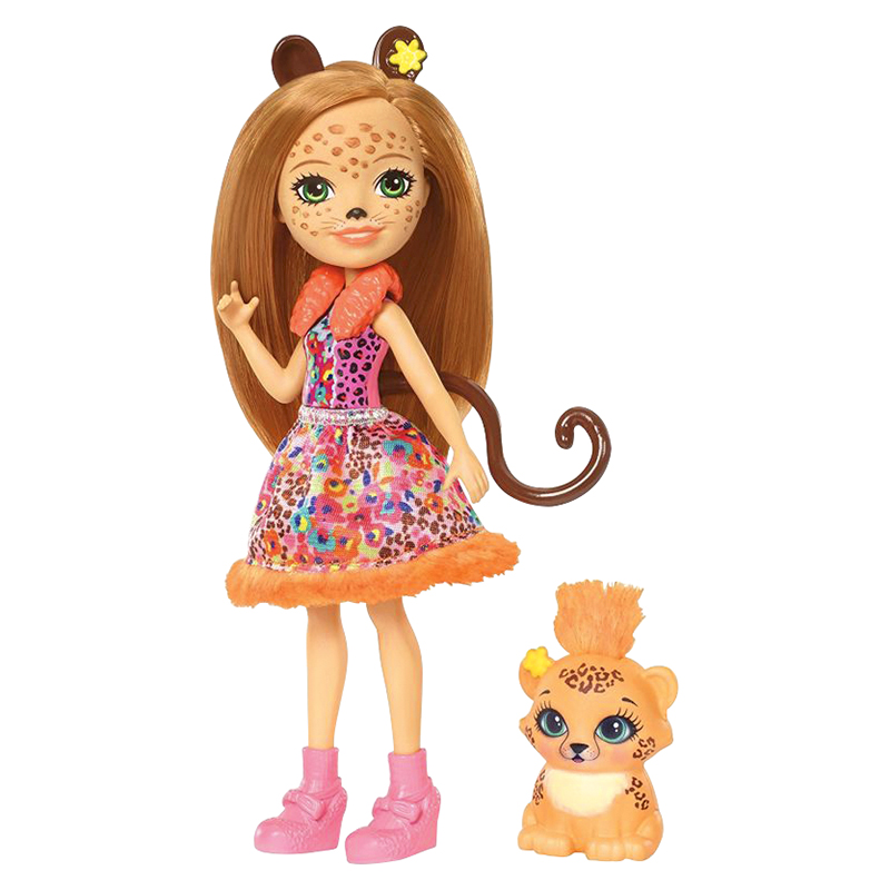 Enchantimals Doll with Matching Animal Friend - Assorted