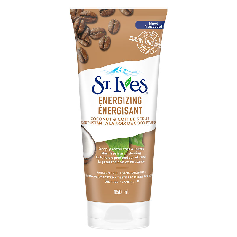St. Ives Energizing Coconut & Coffee Face Scrub - 170g