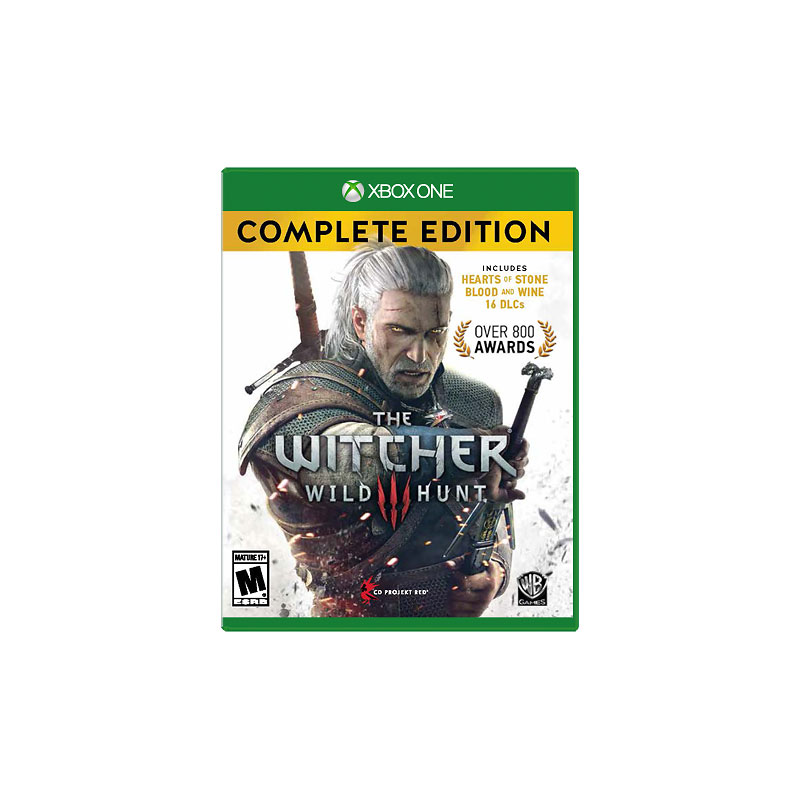 Xbox One The Witcher 3: Wild Hunt Complete Edition