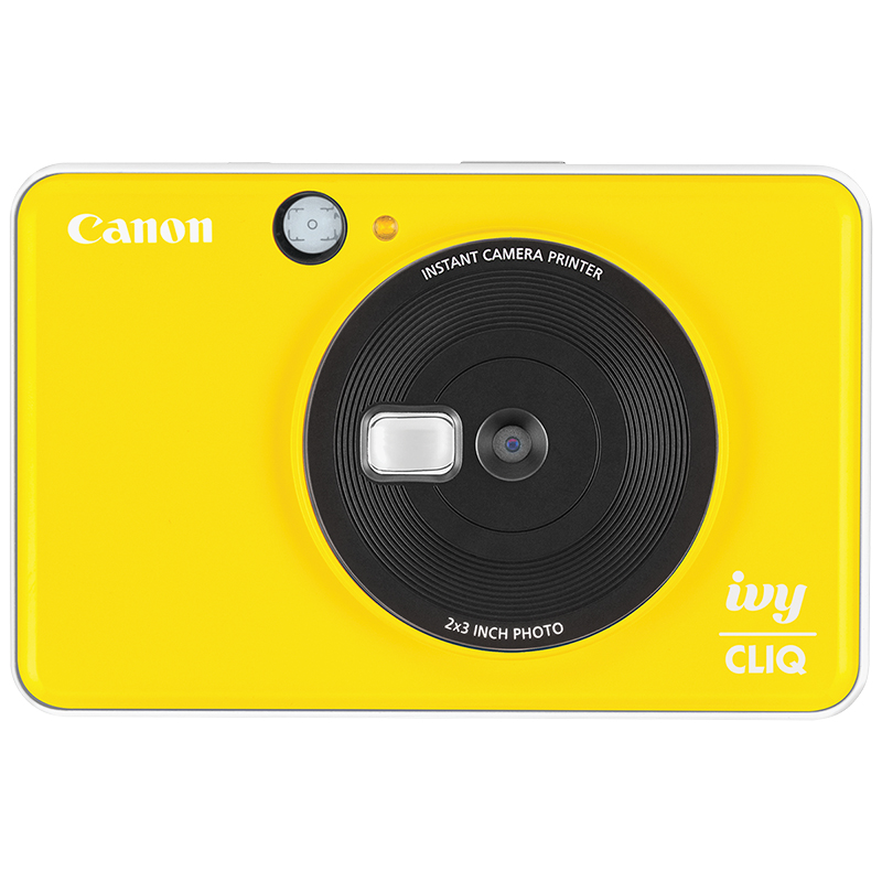 Canon Ivy Cliq Instant Camera - Bumble Bee Yellow - 3884C002