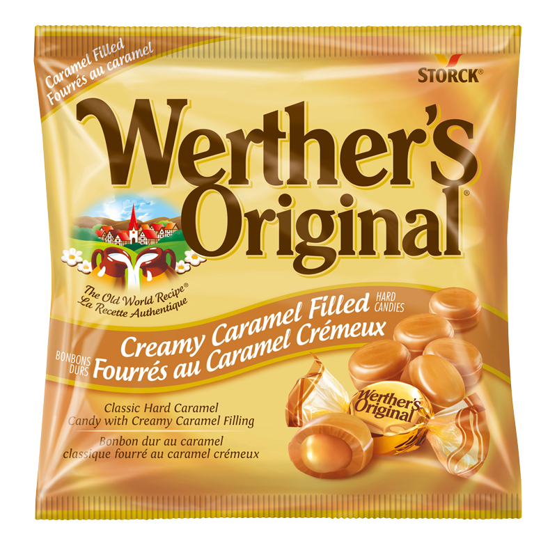Werther's Original Filled Hard Candy - Creamy Caramel - 135g