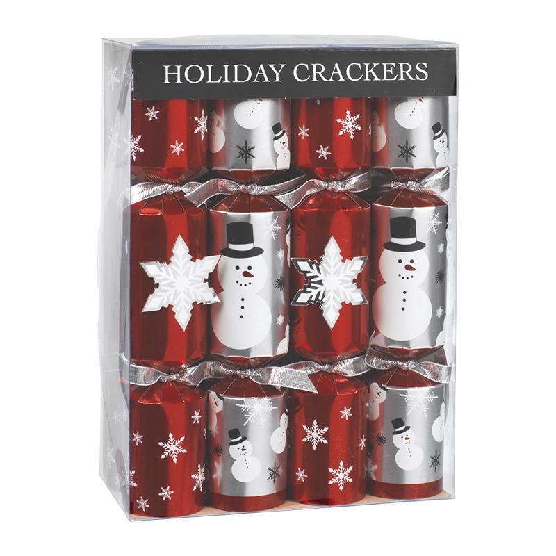 Walpert Crackers Snowflake 10in 8pack London Drugs