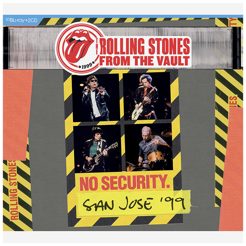Rolling Stones From The Vault: No Security, San Jose '99 - Blu-ray