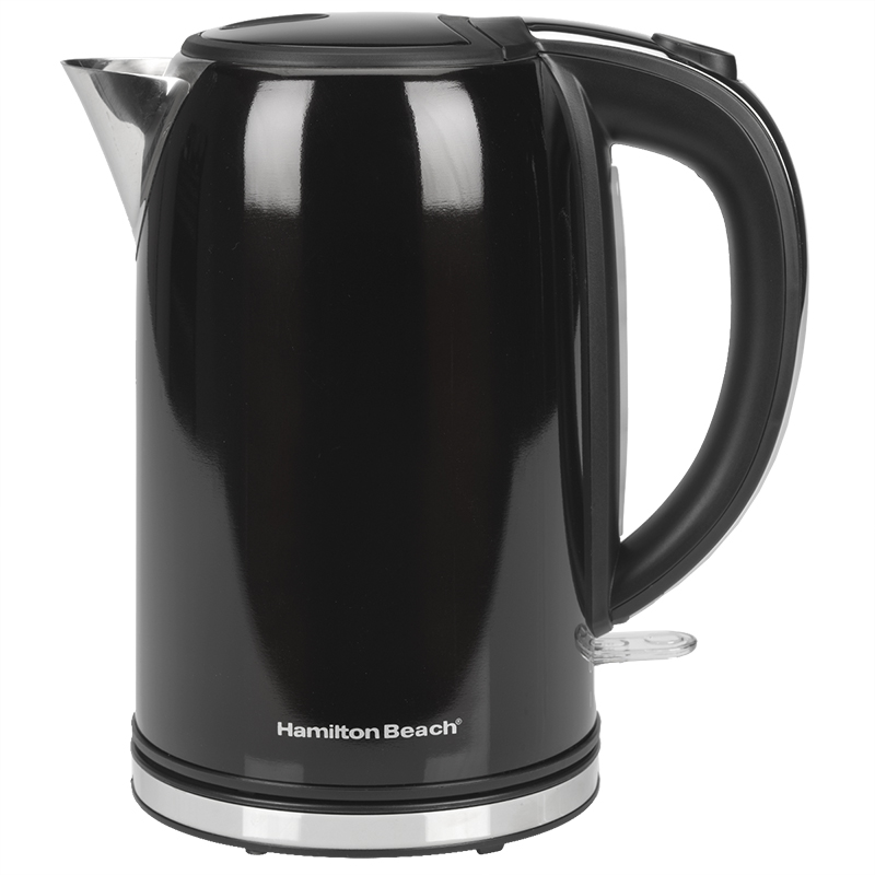 Hamilton Beach Cordless Kettle - Black - 1.7L