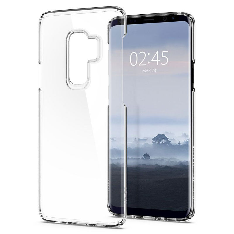 Spigen Thin Fit Crystal Case for Samsung Galaxy S9+ - Clear - SGP593CS22961