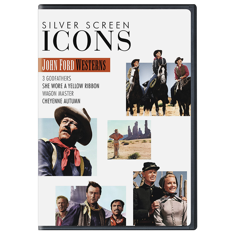 Silver Screen Icons: John Ford Westerns - DVD