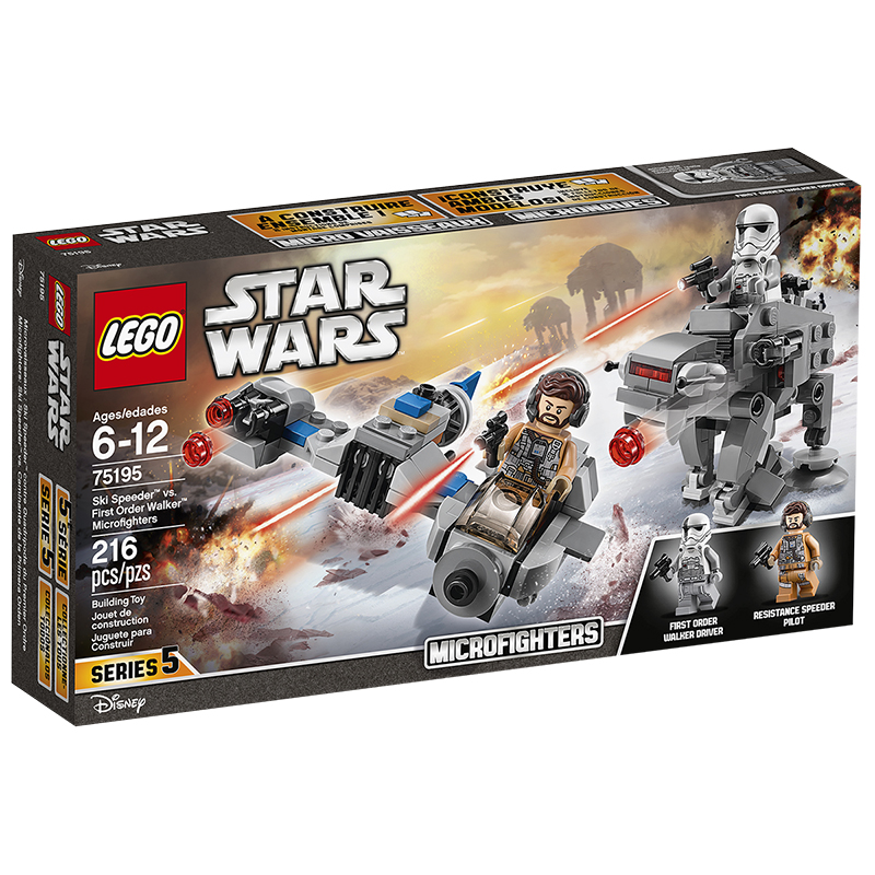 LEGO® Star Wars - Ski Speeder vs. First Order Walker Microfigures