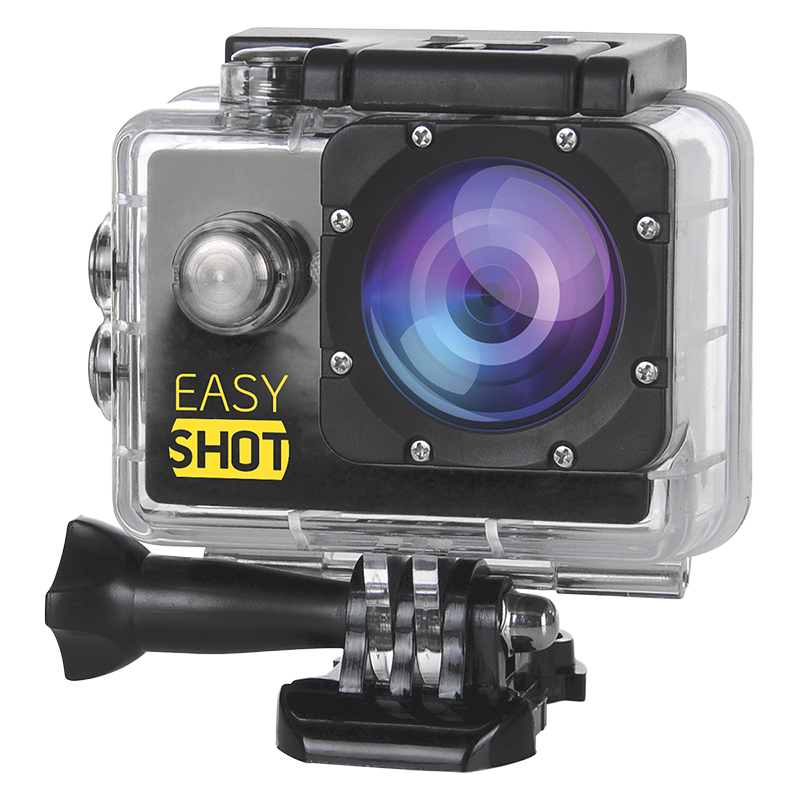 EasyShot 1080p 30fps WiFi Action Camera Kit - EASY1080