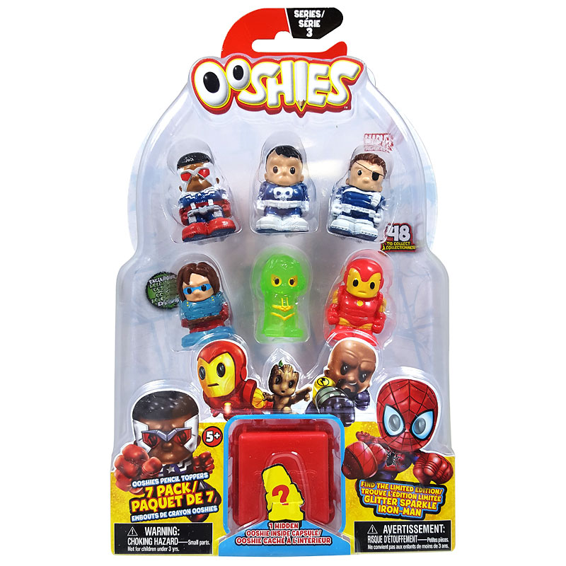 Ooshies Marvel Season 3 - 7 pack