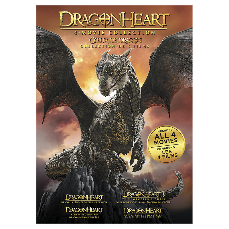 Dragonheart: 4-Movie Collection - DVD