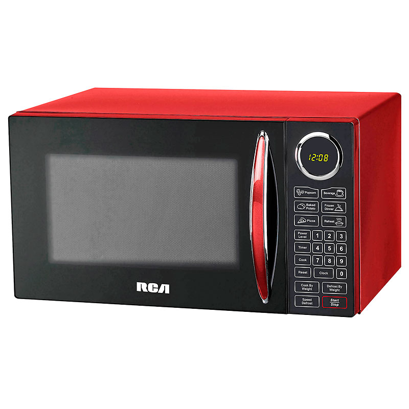 Microwave Red Rmw953red London S