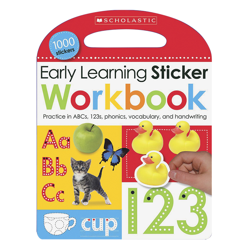 Scholastic Early Learners Sticker Workbook