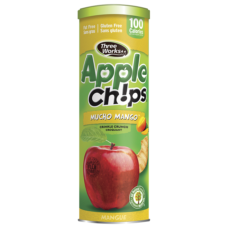 Three Works Apple Chips - Mucho Mango - 50g