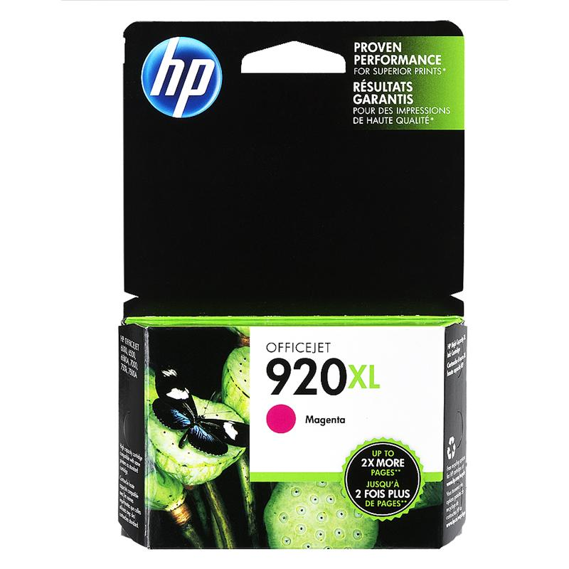 HP 920XL Ink Cartridge - Magenta
