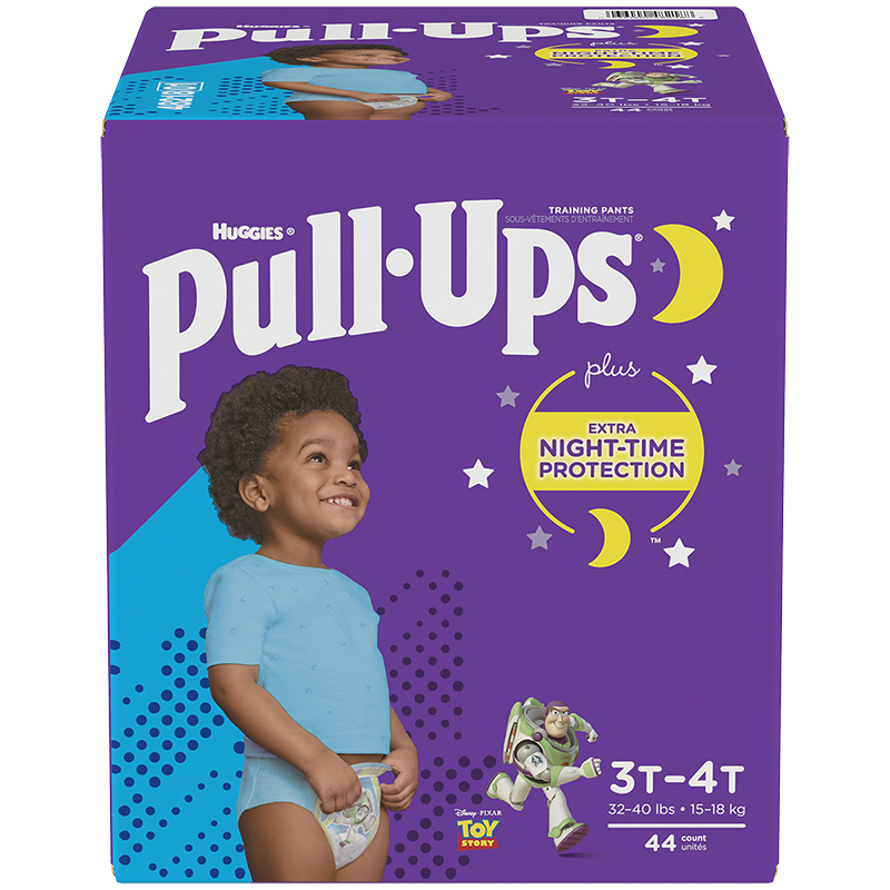 Pull Ups Night Time Training Pants - Boys - Size 3T-4T - 44's