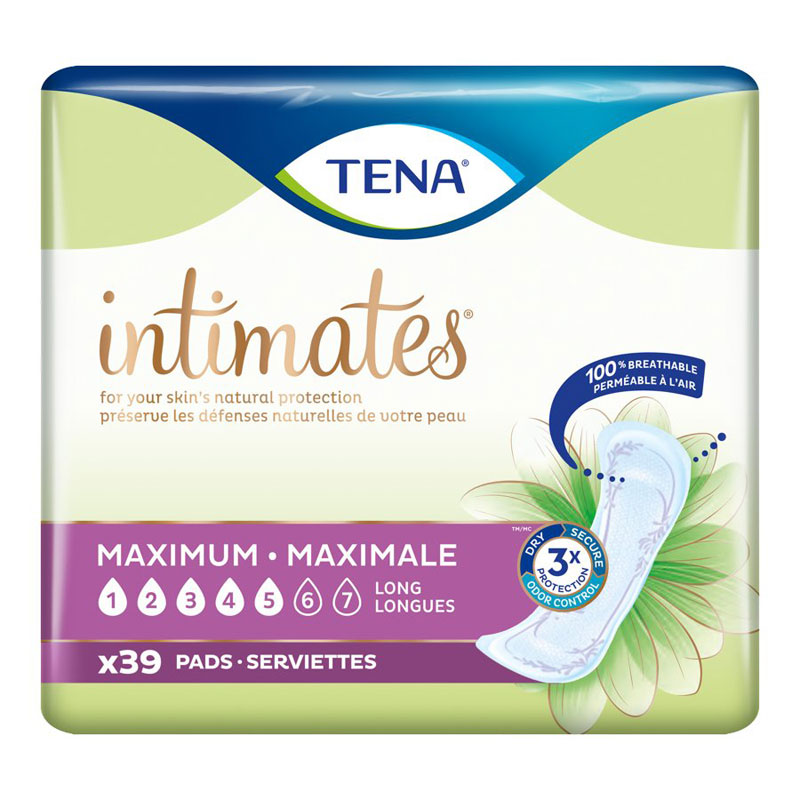 Tena Pads Heavy - Long - 39's