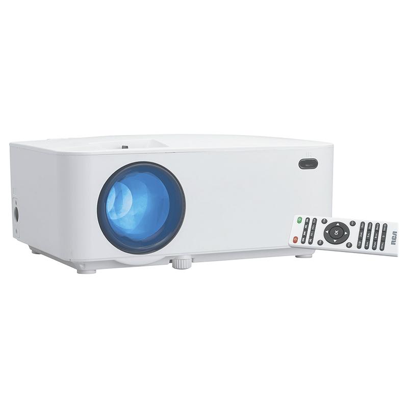 RCA Bluetooth Home Theatre LCD Projector - White - RPJ104