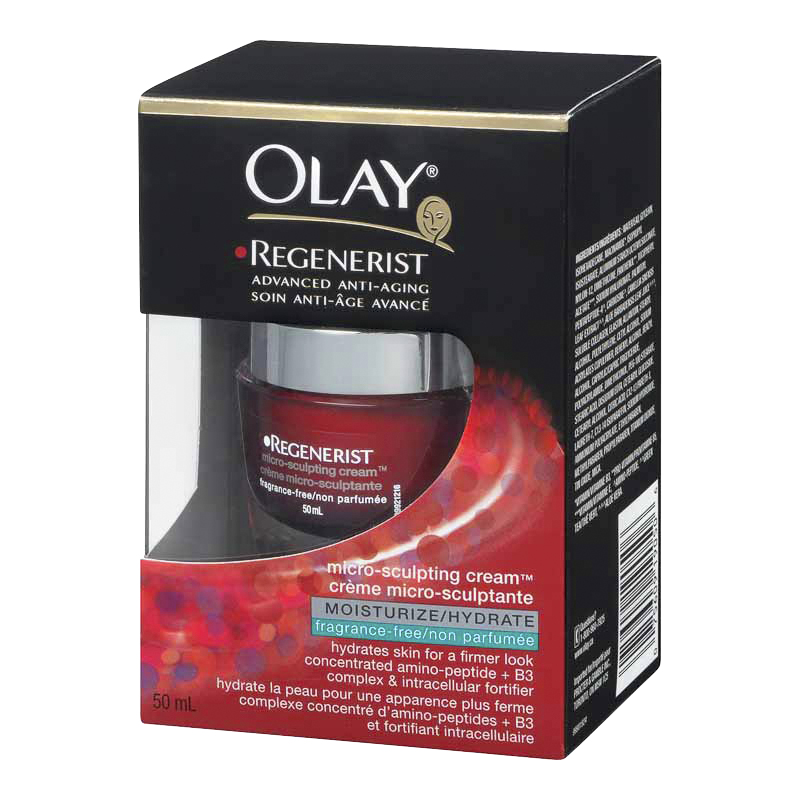 Olay Regenerist Micro-Sculpting Cream - Fragrance Free - 50ml