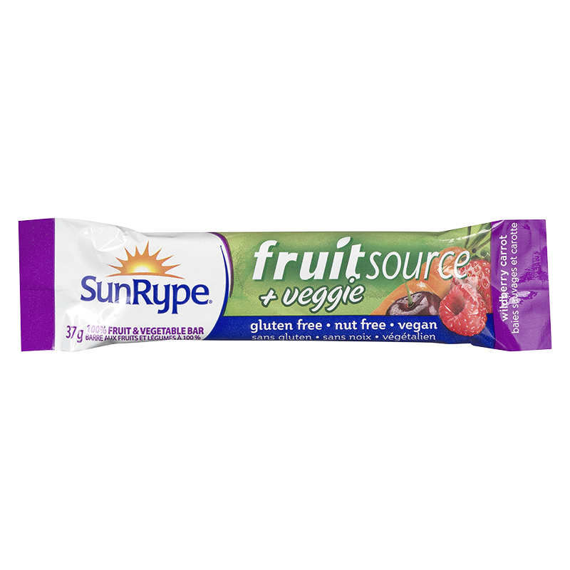 SunRype Fruit Source Bar - Wildberry - 37g