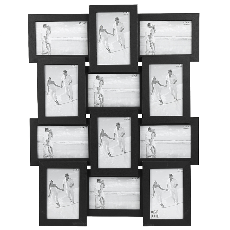 London Home Black Collage Frame - 12-4x6 | London Drugs